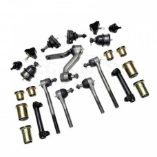 1963-1967 Chevy Nova Suspension Rebuild Kit, Front End, Complete, For Manual Steering, Polyplus