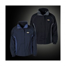 Chevy Jacket, Ladies, 3-In-1 Heavyweight With Gold Bowtie, Black
