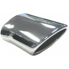 1998-2004 Mercedes® 170 Chassis Chrome Oval Exhaust Tip