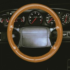 "1974-1998 Porsche® Brown 14.5-16"" Steering Wheel WheelSkin"