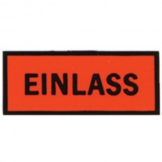 1955-1969 Porsche® Einlass Red Oil Filter Decal