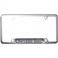 1954-2014 Mercedes® OEM Chrome License Plate Frame