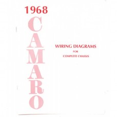 1968 Camaro Wiring Diagram Manual